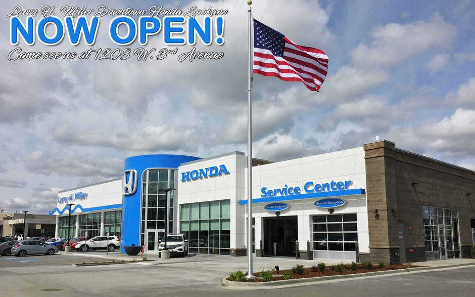 Larry H Miller Spokane >> New Honda Dealership In Downtown Spokane