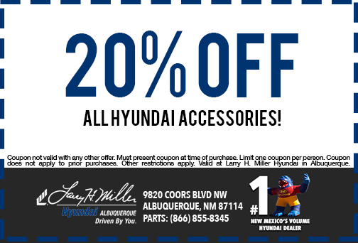 20% off hyundai accessories