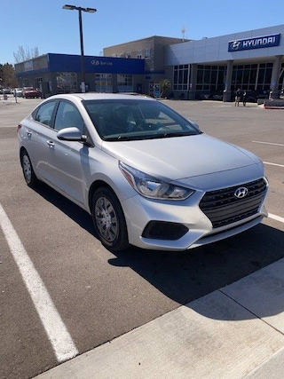 Certified Pre-Owned 2018 Hyundai Accent SE Sedan for sale near you in Albuquerque, NM