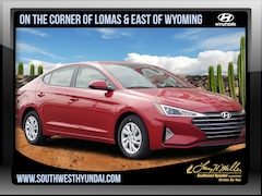 New 2019 Hyundai Elantra SE Sedan 5NPD74LF4KH464922 for sale near you in Albuquerque, NM