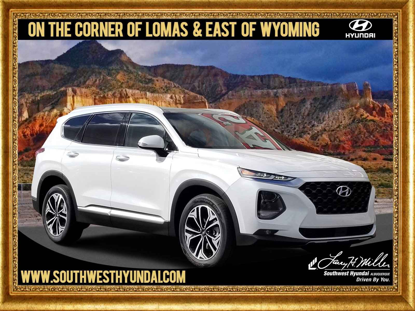 Featured New 2019 Hyundai Santa Fe Limited 2.0T SUV for sale near you in Albuquerque, NM