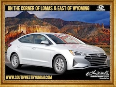 New 2019 Hyundai Elantra ECO Sedan 5NPD94LA7KH466159 for sale near you in Albuquerque, NM