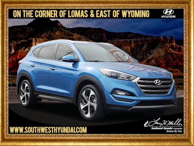 Certified Pre-Owned 2016 Hyundai Tucson Limited SUV Albuquerque