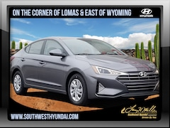 New 2019 Hyundai Elantra SE Sedan 5NPD74LF7KH436841 for sale near you in Albuquerque, NM