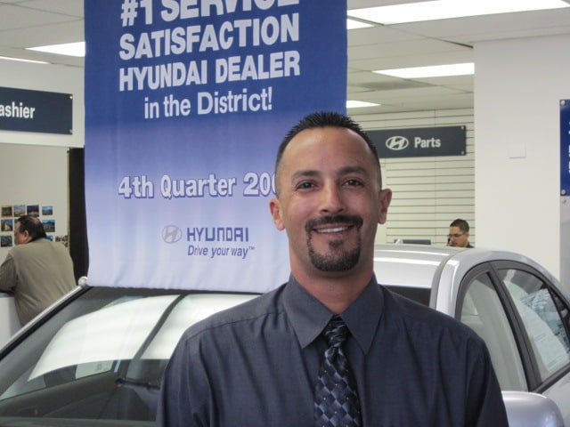 James Sanchez, Service Manager at Southwest Hyundai