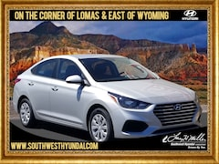 New 2019 Hyundai Accent SE Sedan 3KPC24A38KE068595 for sale near you in Albuquerque, NM
