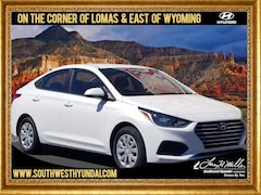 New 2019 Hyundai Accent SE Sedan 3KPC24A34KE069873 for sale near you in Albuquerque, NM