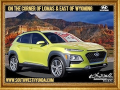 Certified Pre-Owned 2019 Hyundai Kona Limited SUV for sale near you in Albuquerque, NM