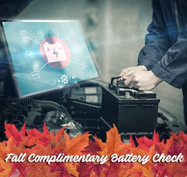 Fall Complimentary Battery Check