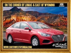 New 2019 Hyundai Accent SE Sedan 3KPC24A30KE069904 for sale near you in Albuquerque, NM