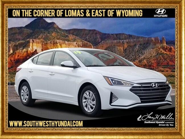 New Hyundai 2019 Hyundai Elantra SE Sedan for sale in Albuquerque, NM