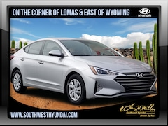 New 2019 Hyundai Elantra SE Sedan 5NPD74LF9KH431821 for sale near you in Albuquerque, NM
