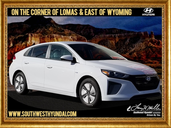 New Hyundai 2019 Hyundai Ioniq Hybrid Blue Hatchback for sale in Albuquerque, NM