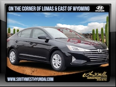 New 2019 Hyundai Elantra SE Sedan 5NPD74LF0KH460687 for sale near you in Albuquerque, NM