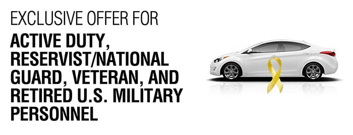 Hyundai Military Rebate at Southwest Hyundai  Albuquerque