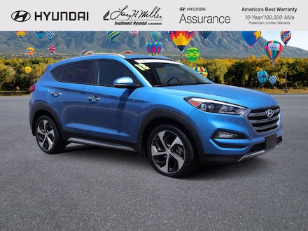 Featured pre-owned 2018 Hyundai Tucson Limited SUV for sale near you in Albuquerque, NM