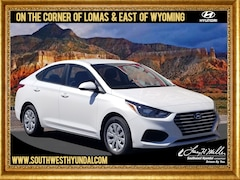 New 2019 Hyundai Accent SE Sedan 3KPC24A33KE075602 for sale near you in Albuquerque, NM