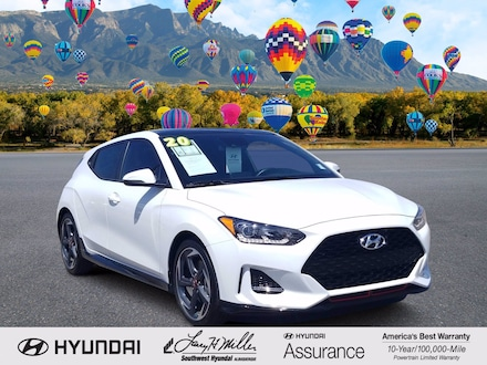 Featured pre-owned 2020 Hyundai Veloster Turbo Hatchback for sale near you in Albuquerque, NM