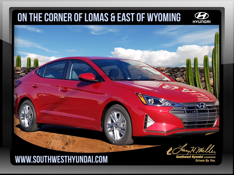Featured New 2019 Hyundai Elantra SEL Sedan for sale near you in Albuquerque, NM