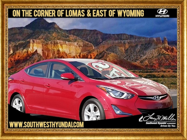 Certified Pre-Owned 2016 Hyundai Elantra Value Edition Sedan Albuquerque