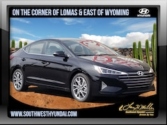 New 2019 Hyundai Elantra Limited Sedan for sale near you in Albuquerque, NM