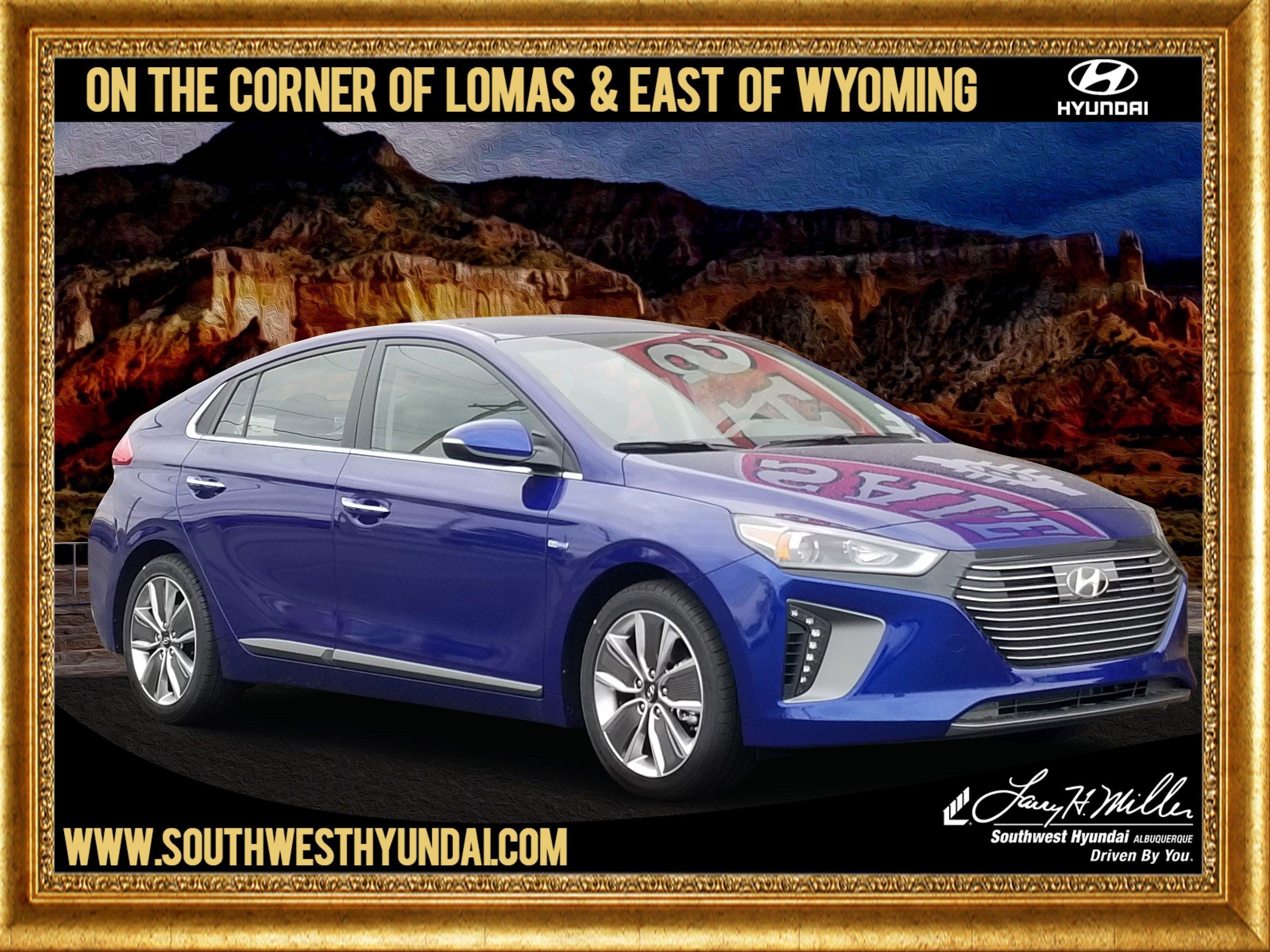 Featured New 2019 Hyundai Ioniq Hybrid Limited Hatchback for sale near you in Albuquerque, NM