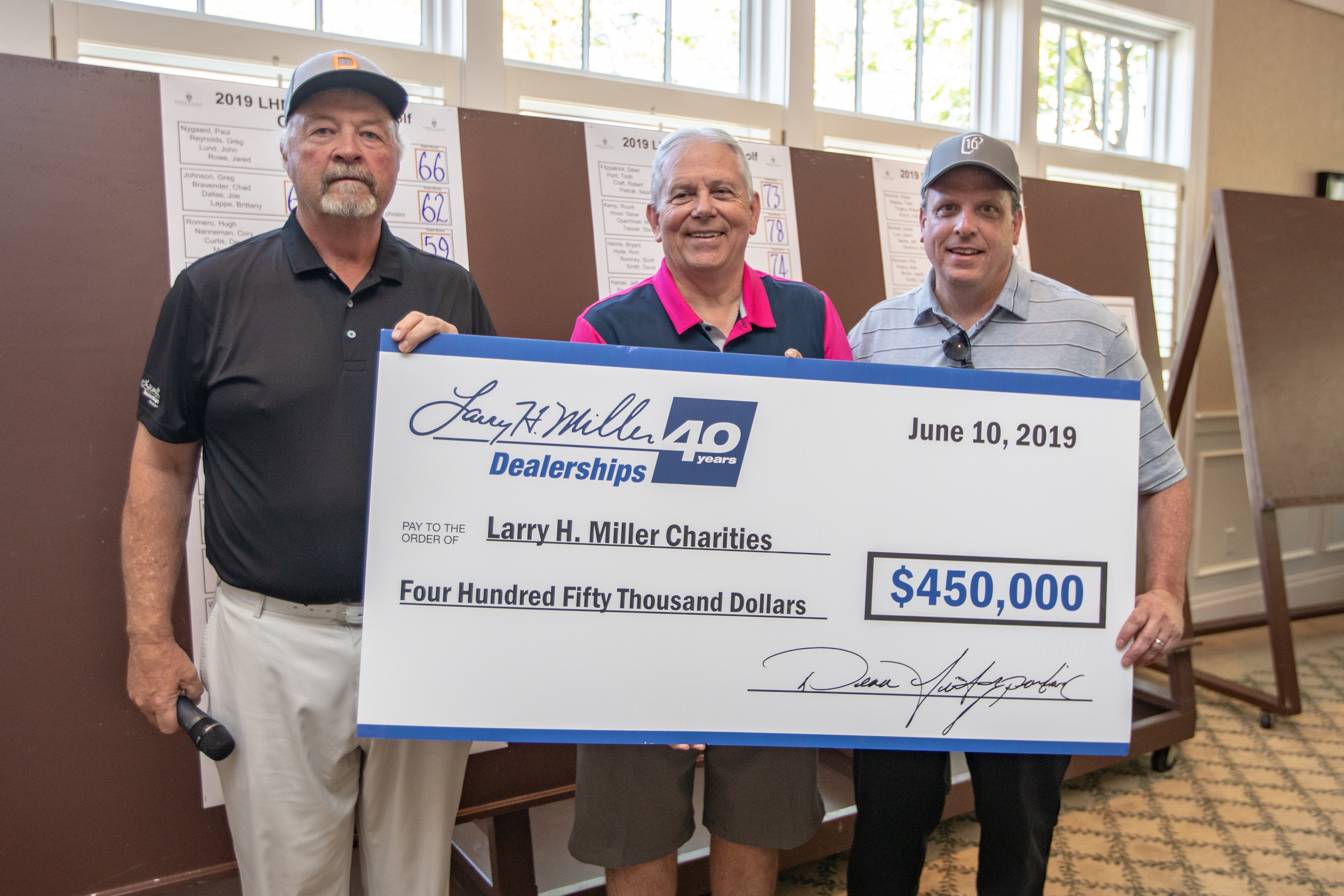 LHM Golf Charities
