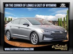 New 2019 Hyundai Elantra Limited Sedan 5NPD84LF4KH458969 for sale near you in Albuquerque, NM