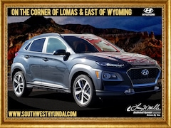 New 2019 Hyundai Kona Limited SUV KM8K3CA58KU251674 for sale near you in Albuquerque, NM
