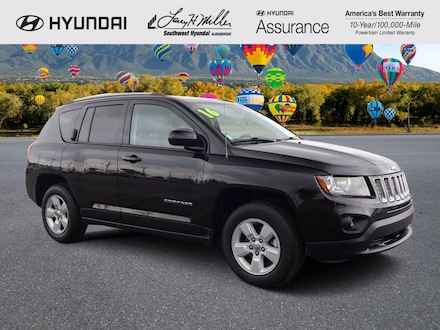 Featured pre-owned 2016 Jeep Compass Latitude FWD SUV for sale near you in Albuquerque, NM