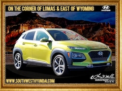 New 2019 Hyundai Kona Limited SUV KM8K3CA52KU250942 for sale near you in Albuquerque, NM