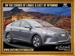 New 2019 Hyundai Ioniq Hybrid SEL Hatchback KMHC75LC8KU117361 for sale near you in Albuquerque, NM