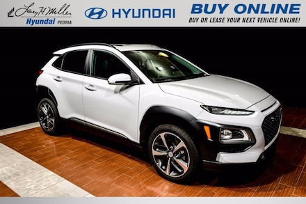 Featured New 2021 Hyundai Kona Limited SUV KM8K3CA55MU608697 for sale near you in Peoria, AZ
