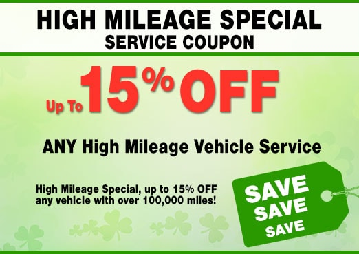 High-Mileage Vehicle Service Coupon, Peoria, AZ