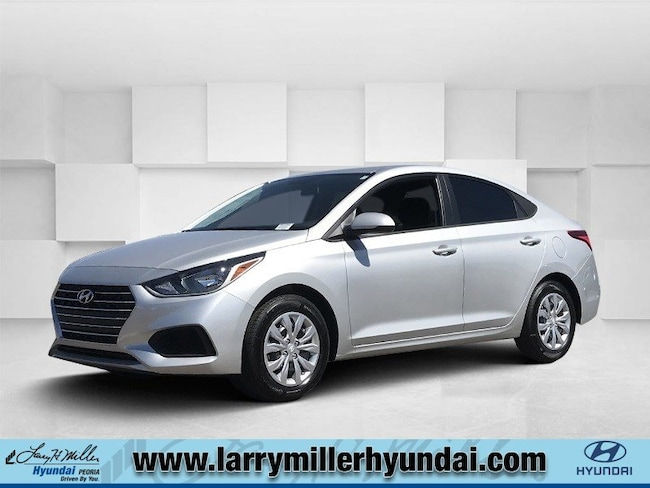 New Hyundai vehicle 2019 Hyundai Accent SE Sedan 3KPC24A32KE048049 for sale near you in Phoenix, AZ