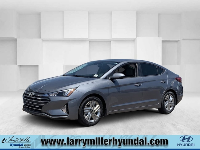 New Hyundai vehicle 2019 Hyundai Elantra SEL Sedan KMHD84LF3KU877834 for sale near you in Phoenix, AZ