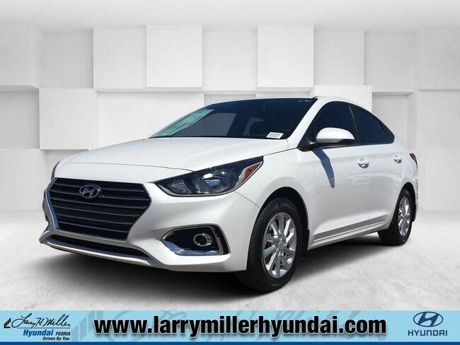 New Hyundai vehicle 2019 Hyundai Accent SEL Sedan 3KPC24A35KE074354 for sale near you in Phoenix, AZ