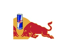 Four 12oz Cans Red Bull