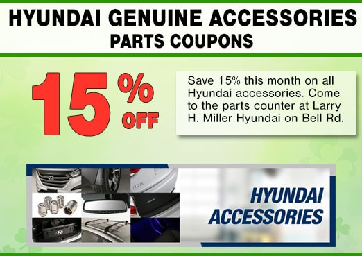 Peoria, AZ Hyundai Accessories Coupon