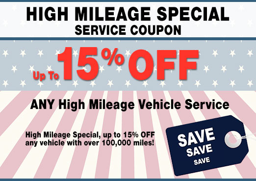 High-Mileage Vehicle Service Coupon, Peoria, AZ