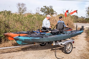 Yakima Kayak or Canoe Trailers available from Larry H. Miller Hyundai Peoria, AZ