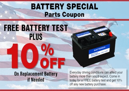 Hyundai Battery Coupon, Peoria, AZ