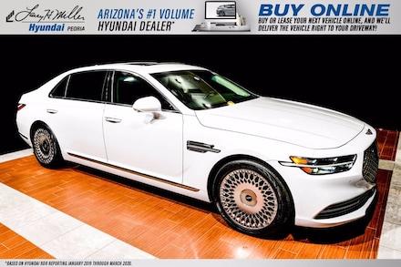 Featured Used 2020 Genesis G90 5.0L Ultimate Sedan KMTF54PHXLU076824 for sale near you in Peoria, AZ