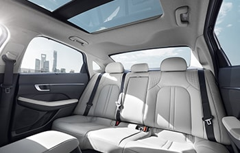 2020 Sonata Interior Back