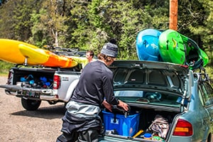 Yakima Kayak Racks available from Larry H. Miller Hyundai Peoria, AZ
