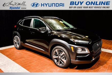 Featured New 2021 Hyundai Kona Limited SUV KM8K33A5XMU608579 for sale near you in Peoria, AZ