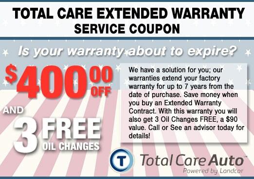 Extended Service Warrantly Coupon, Peoria Hyundai Service Center