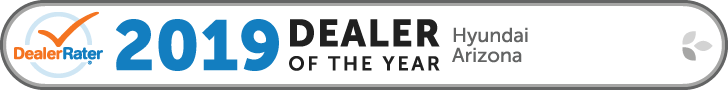 2019 Dealer Rater Arizona Hyundai Dealer of the Year Award