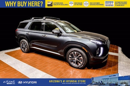 Featured New 2022 Hyundai Palisade SEL SUV KM8R24HE9NU340736 for sale near you in Peoria, AZ