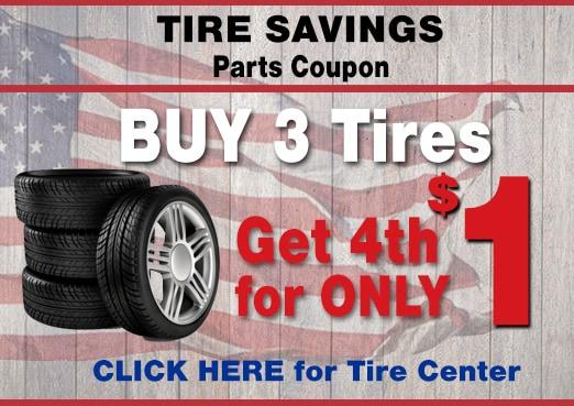 Tire Savings Event at Larry H. Miller Hyundai, Peoria, AZ